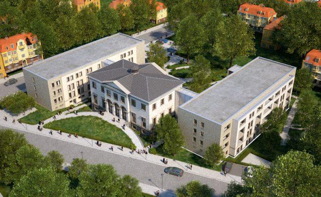 Prinzenpalais Gotha AWO Seniorenheim Seniorenresidenz Planung