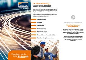 Vorschau Download Flyer Fachplanung PEM-energy GmbH