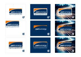 Vorschau Download Logo Guide Verwendung PEM-energy GmbH